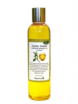 Jojoba Golden øko fra Peru 250ml