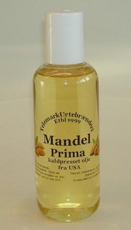 250 ml prima kaldpresset Mandelolje fra USA
