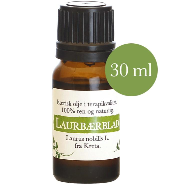 30 Ml Laurbærblad Laurus Nobilils Kreta Telemark Urtebrænderi
