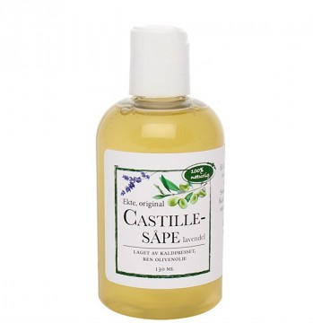 Castillesåpe, lavendel 130ml