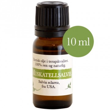 10ml Muskatellsalvie (salvia sclarea) USA
