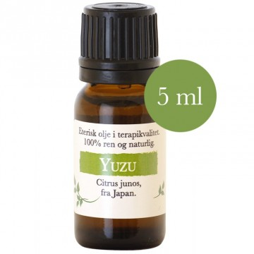 5ml Yuzu (Citrus junos) fra Japan