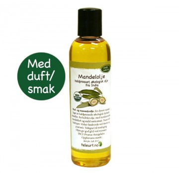 Mandel kaldpresset fra India 120ml