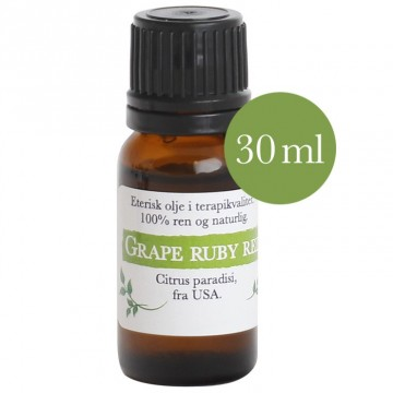 30ml Grapefrukt ruby red (Citrus paradisi) fra USA