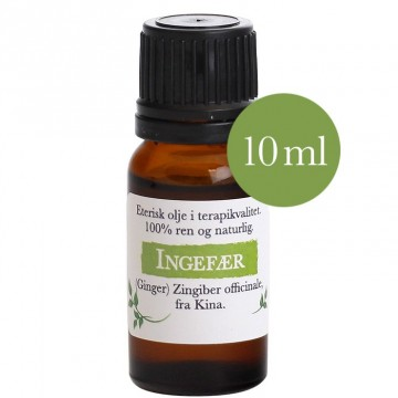 10ml Ingefær (Zingiber officinale) Kina