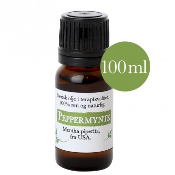 100ml Peppermynte - Premium (Mentha piperita) fra USA