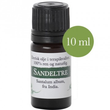 10ml Sandeltre (Santalum album) fra India