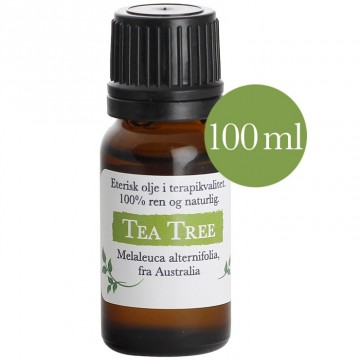 100ml Tea Tree Premium (Melaleuca alternifola) fra Australia