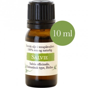 10ml Salvie Dalmatian (Salvia officinalis) fra Hellas