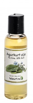 Agurkurt 18% GLA (Borago officinalis) 60ml