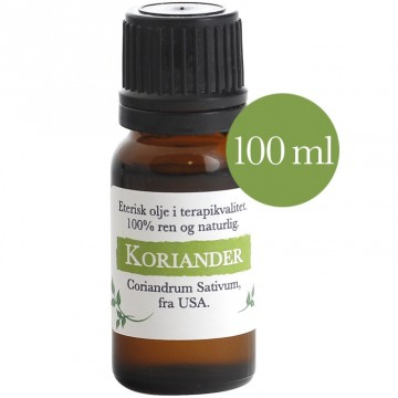 100ml Koriander (Coriandrum sativum) fra USA