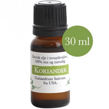 30ml Koriander (Coriandrum sativum) fra USA