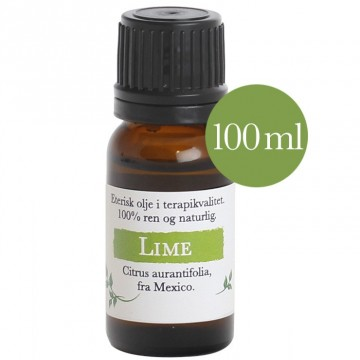 100ml Lime (citrus aurantifolia) fra Mexico