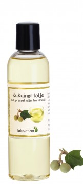 Kukuinøtt (Aleurites moluccans) Hawaii 125ml - fin for solbrent hud