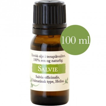 100ml Salvie Dalmatian (Salvia officinalis) fra Hellas