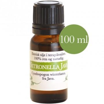 100ml Sitronella Java (Cymbopogon winterianus)