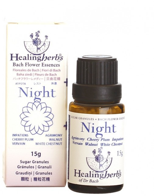 Dr. Bach Rescue Remedy Night, granulat
